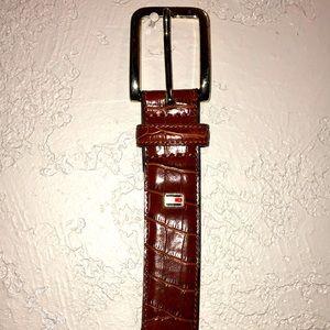 Men's Tommy Hilfiger Genuine Leather Belt